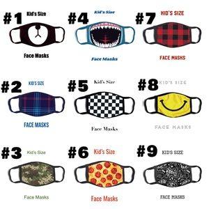 Fun Children's Size Face Masks, 4-14